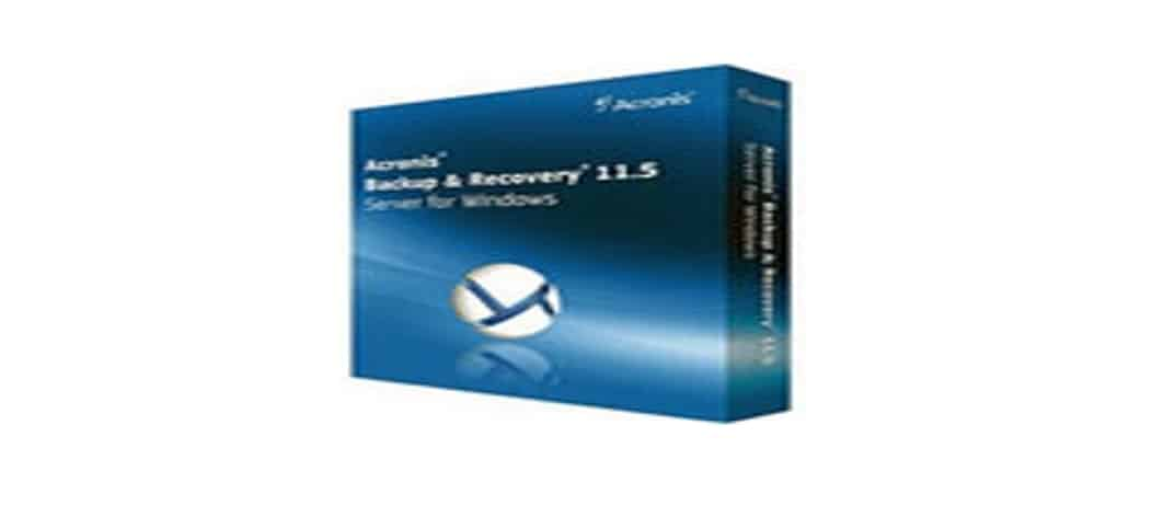 Acronis recovery 2016