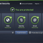 AVG internet security 2017 screenshot