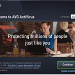 Avg antivurs install