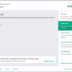 Kaspersky Antivirus 2016. screenshot