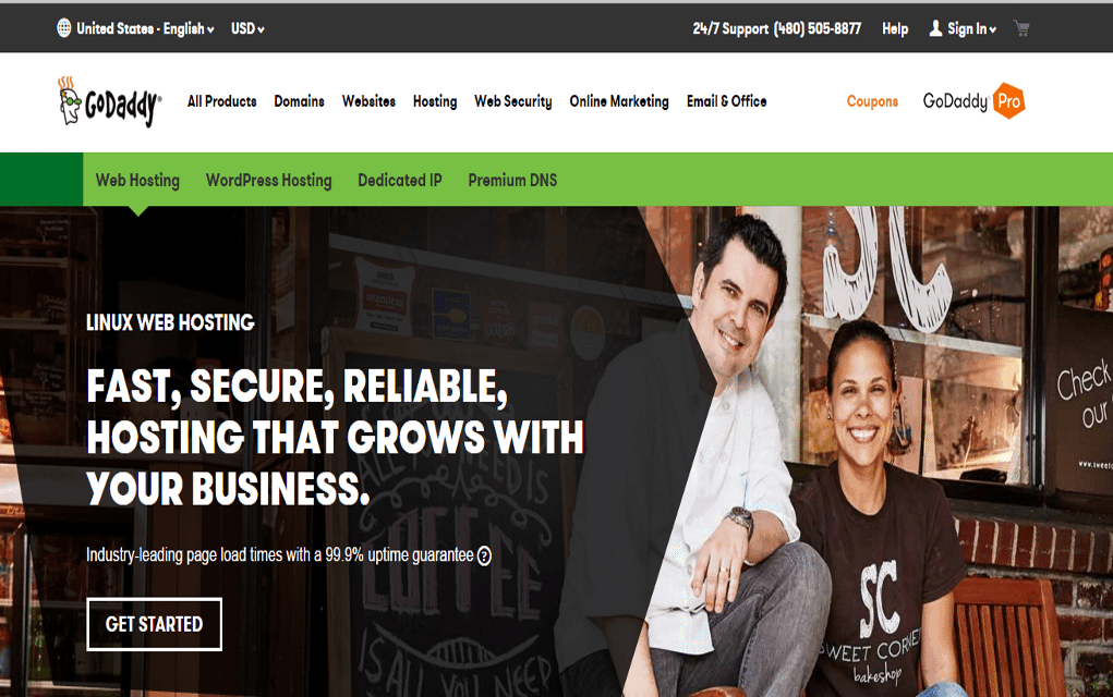 Godaddy ultimate hosting coupon 2018