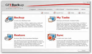 GFI free Backup Home Edition