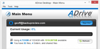 adrive-online-backup review