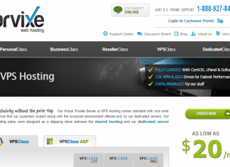 Arvixe VPS Hosting review