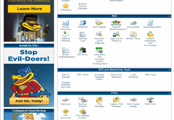 HostGator Marketing Tools