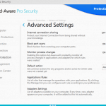 Ad-Aware 11 Pro Security Advanced features