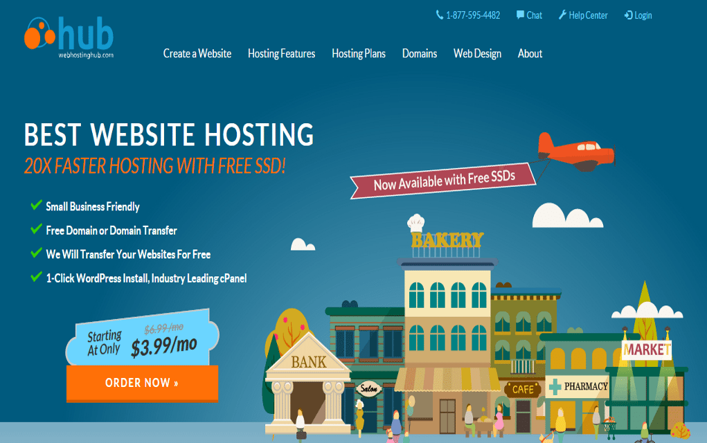 Web Hosting Hub Reviews 2017