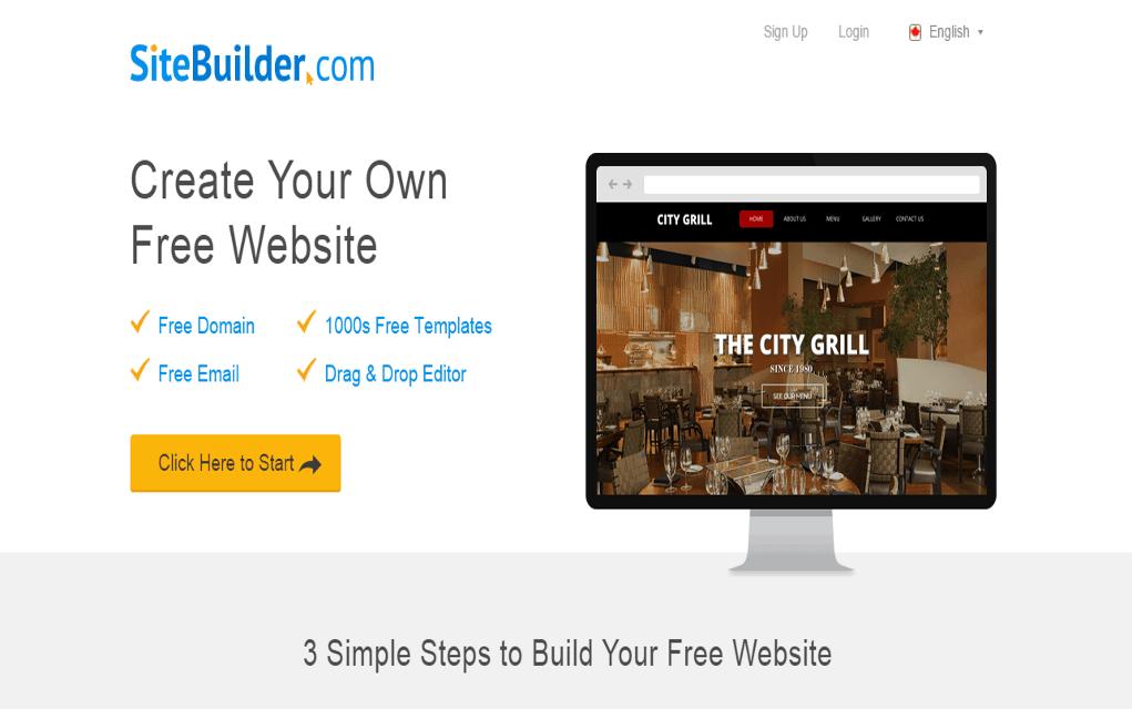 sitebuilder review 2018 pros and cons of sitebuilder