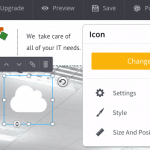 SiteBuilder.com icon change