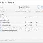 avira system speed Junk FILES