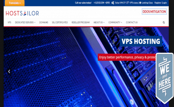 hostsailor VPS review