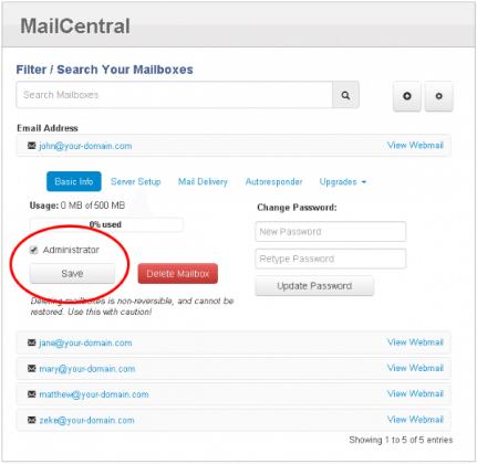 Netfirms email setup