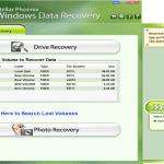 Stellar Phoenix Windows Data Recovery main page