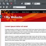 XARA Web Designer 11 Premium webpage