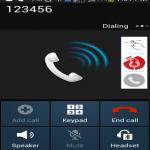 Advanced Call Recorder call screenshot
