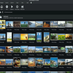MAGIX Photo Manager dashboard