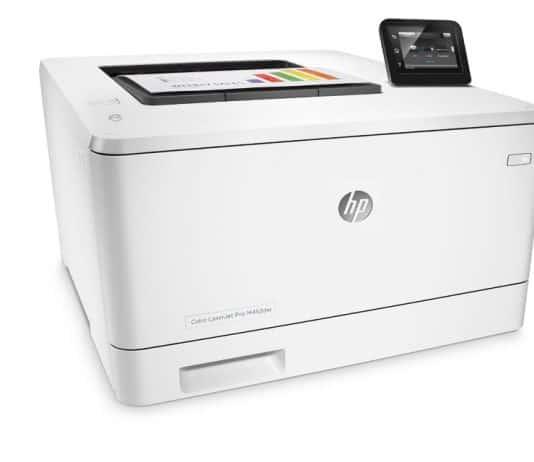 HP LaserJet Pro M252dw review color