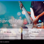 Cyberlink Power DVD 17 tv Mode