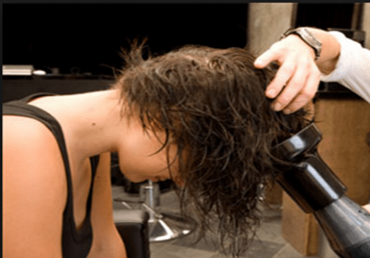 Bouncy Beautiful Hair Blow Dry