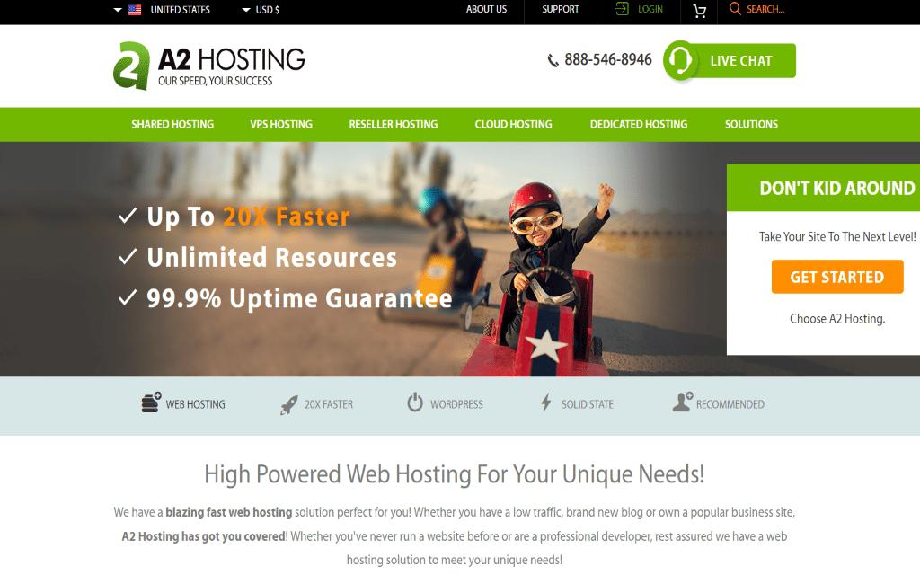 A2 hosting review 2017