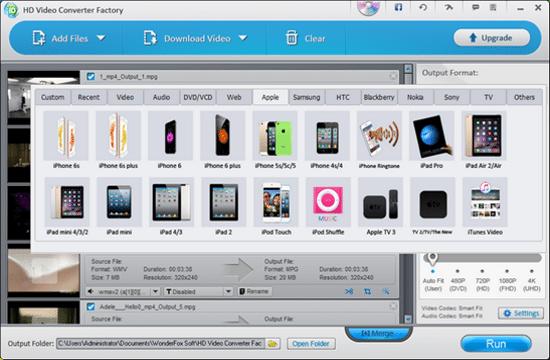 WonderFox Free HD Video Convert Video and Audio