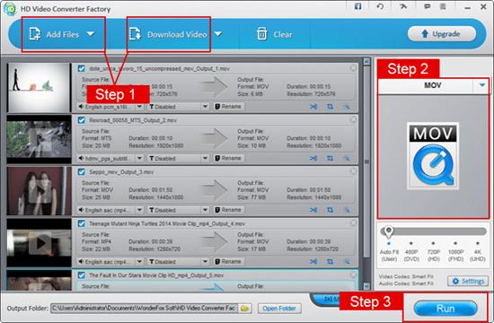 WonderFox Free HD Video Interface