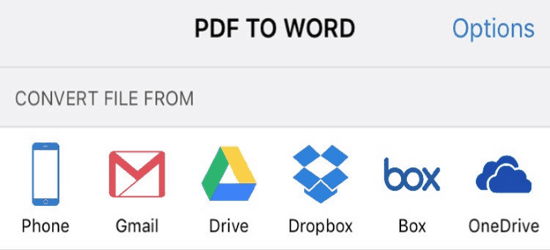 PDF to Word files 5 best things