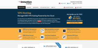 InMotion Hosting VPS review