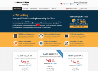 inmotion VPS hosting Review