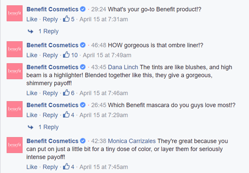 Benefit Cosmetics EPISODES