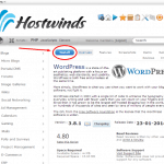 Hostwinds wordpress