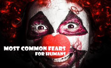 most common fears