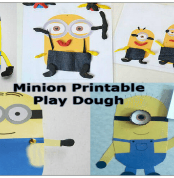 DIY Minions Themed Craft and Activities for Kids