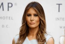 First Lady Caveats Mrs. Trump