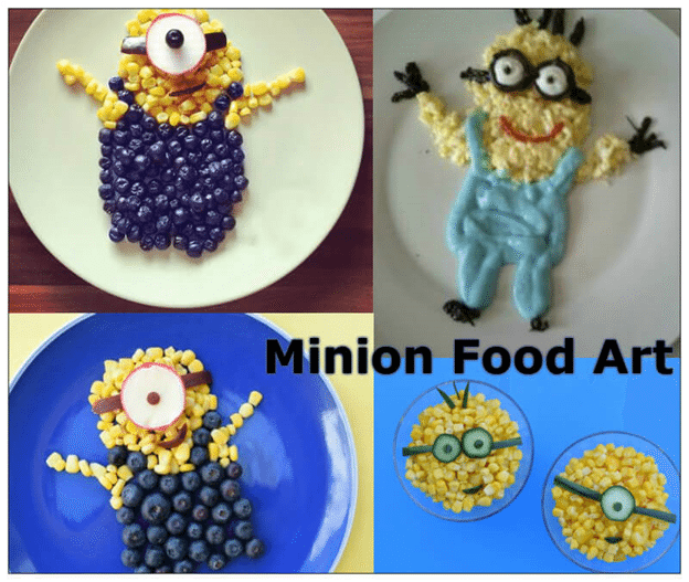 Minion Food Art