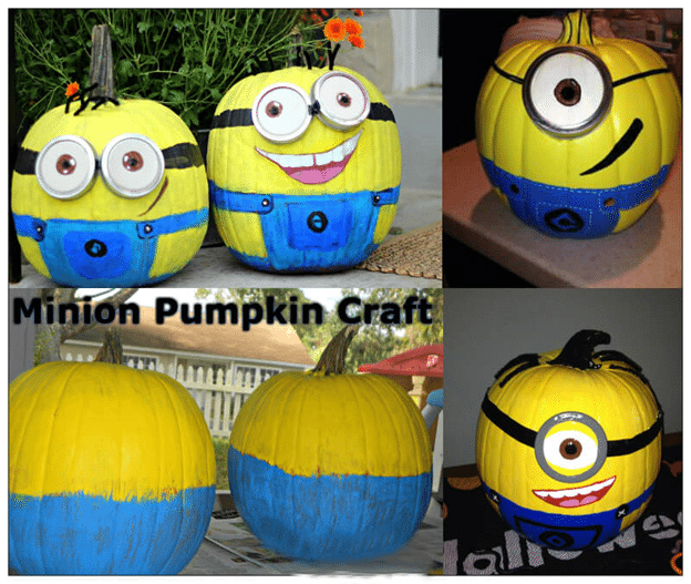 how to make easy minion crafts