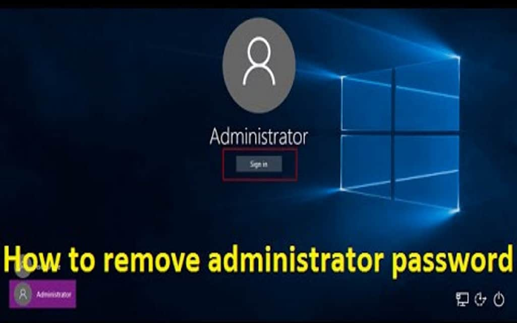 How To Remove Bypass Windows 10 Admin Password