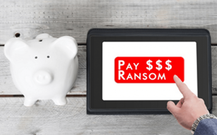Hit by Ransomware,