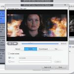 WinX HD Video Converter Deluxe editing