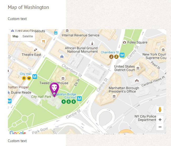 Google Maps Widget WordPress