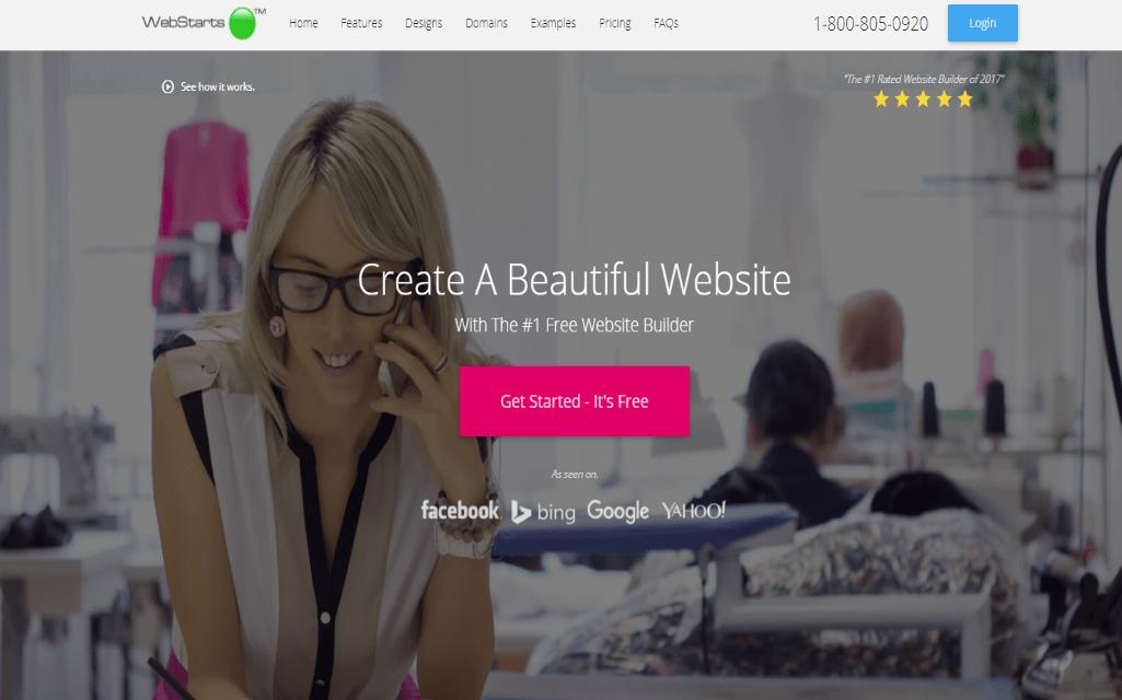 Webstarts Website Builder