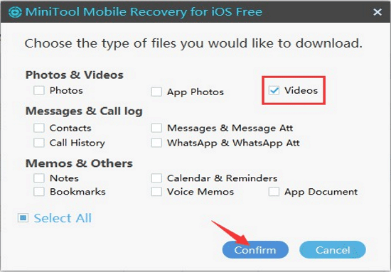 iPhone video recovery apps