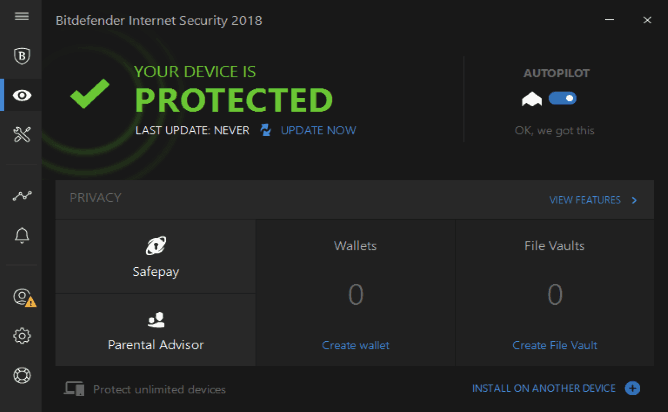 Bitdefender Internet Security 2018 Review Best Internet
