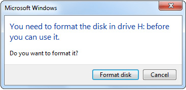 Drive formate