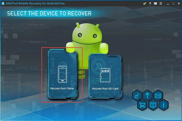 Recover from Phone