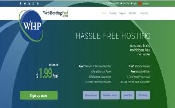WebHositng Pad review