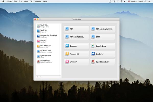 CloudMounter screenshot