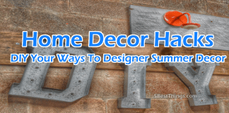 DIY HOME Decor Hacks