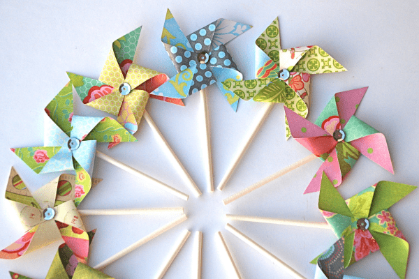 Paper Pinwheel Home Decor Hacks