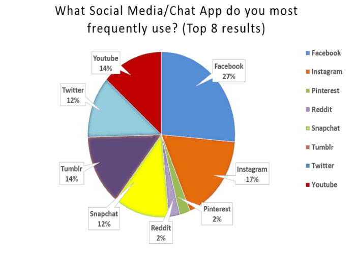 Widely used applications Social media